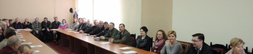 Spotkanie z Sołtysami Gminy Zambrów Kliknięcie w obrazek spowoduje wyświetlenie jego powiększenia